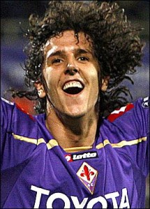 Stevan Jovetic at Fiorentina