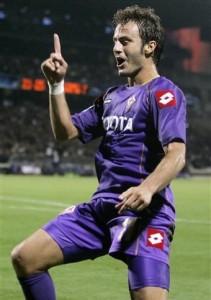 Alberto Gilardino at Fiorentina