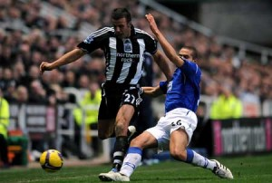 newcastle united v everton