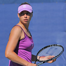 vera zvonareva at the US Open 2011