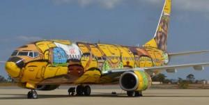 Echipa Braziliei si-a tras un avion pictat