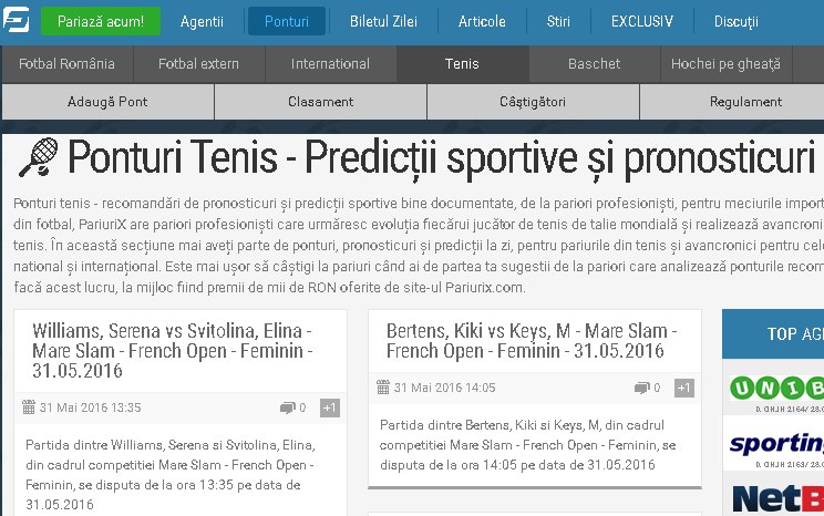 pariurix - sportsin.ro