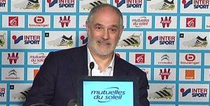 Zubizarreta e director sportiv la OM
