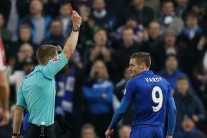 Vardy a fost suspendat trei meciuri