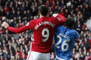 Ibrahimovici a fost suspendat trei meciuri