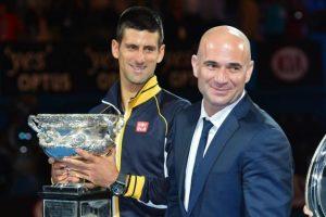 Andre Agassi este noul antrenor al lui Djokovici