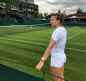 Simona Halep trece în turul secund la Wimbledon