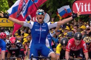 Kittel se impune la sprint în etapa secundă din Tour de France