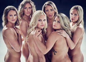 Naționala de hochei feminin a Statelor Unite a pozat nud!