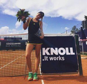 Gabriela Ruse a câștigat turneul de la Bad Saulgau