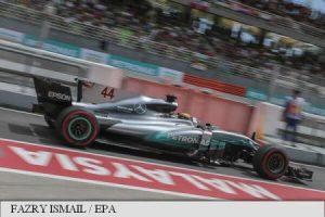 Hamilton va pleca din pole position în Marele Premiu al Malaeziei