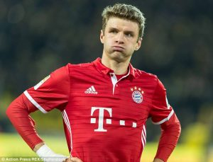 Thomas Müller absenteaza trei saptamani