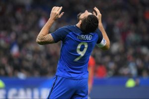 Giroud nu joaca cu Germania