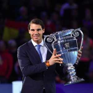 Rafael Nadal a primit trofeul rezervat numărului unu mondial la final de sezon