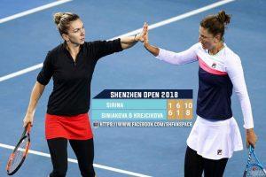 Simona Halep, Irina Begu şi Mihaela Buzărnescu, învinse în proba de dublu la Australian Open