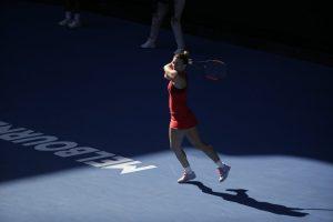 Simona Halep se califică în sferturile de la Australian Open