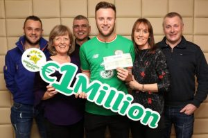 Fotbalistul irlandez de la Preston North End a marcat în noul an, câștigând la loteria irlandeză un milion de euro