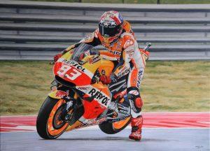 Spaniolul Marc Marquez a prelungit cu Honda până în 2020