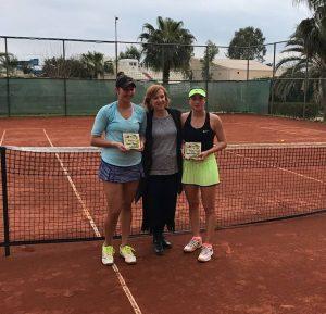 Ilona Ghioroaie cucerește titlul în Antalya iar Andreea Roșca la Hammamet