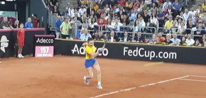 Simona Halep califică România în Grupa Mondială a Fed Cup