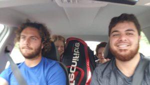 Lucky Loser Trungelliti ajunge la Paris după 10 ore de condus mașina