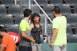 Carla Suarez Navarro a avut nevoie de 42 de minute pentru a promova în turul secund