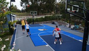 Beneficiile aduse sanatatii de existenta unui miniteren de sport in propria curte