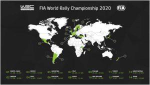 Chile a anulat organizarea etapei de Campionat Mondial de Raliuri