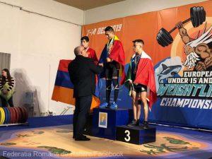 România a cucerit opt medalii de aur în prima zi a europenelor de haltere