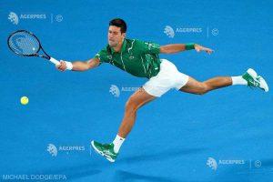 Novak Djokovic, a 900-a victorie din carieră, în primul tur la Australian Open
