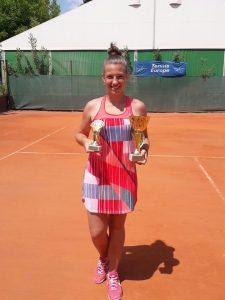 """Iulia Marko: """"Obiectivul meu din acest an este să intru în clasamentul WTA"""""""