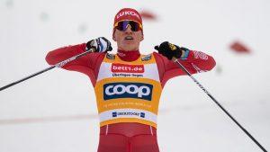 Alexander Bolschunow a câștigat cursa de schi fond de la Falun