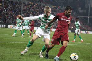 CFR 1907 Cluj  – Celtic Glasgow  2-0 ( 0-0 )