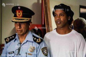 Ronaldinho, menţinut în continuare în detenţie în Paraguay