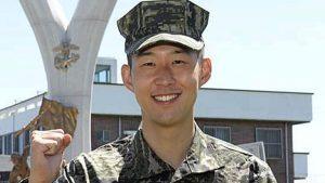 Heung-Min Son finalizează pregătirea militară din Coreea de Sud