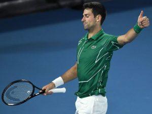 Novak Djokovic, la o victorie de egalarea recordului deţinut de Pete Sampras