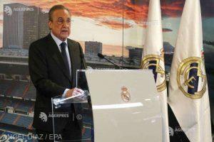 Florentino Perez a anunţat că Real Madrid va juca pe stadionul Alfredo Di Stefano restul sezonului
