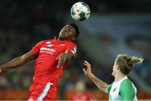 Taiwo Awoniyi a suferit o contuzie în meciul lui Mainz
