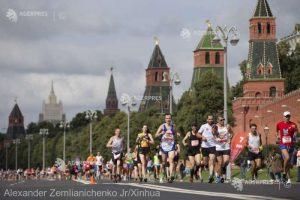 Atletism: Concurenţii de la semimaratonul Moscovei, îndemnaţi să respecte distanţarea socială