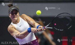 Bianca Andreescu a declarat forfait pentru turneul de la Roland Garros