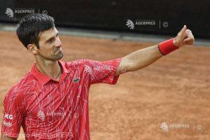 Djokovic a câştigat turneul Masters 1000 de la Roma