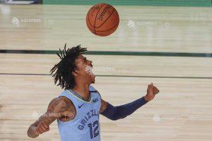 Ja Morant (Memphis Grizzlies), desemnat cel mai bun debutant al anului în NBA