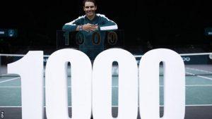 Rafael Nadal câștigă al 1.000-lea meci ATP, după  victoria de la Paris