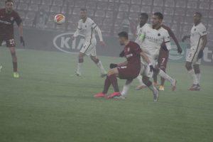 CFR Cluj  –  AS Roma  0-2 ( 0-0 )