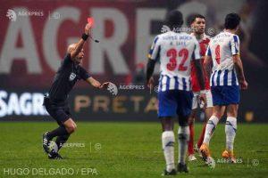 Arbitru ameninţat cu moartea după ce a eliminat doi jucători ai lui FC Porto
