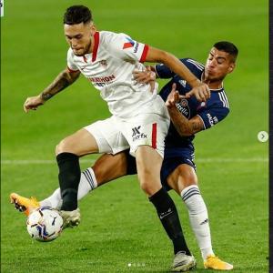 Lucas Ocampos (Sevilla FC) va fi absent câteva săptămâni