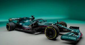Formula 1: Aston Martin prezintă AMR21, monopostul său pentru 2021