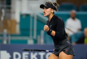 """Bianca Andreescu se simte bine la Miami Open, dar admite că """"există unele dubii"""""""