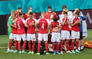 EURO2020: Meciul Danemarca – Finlanda, întrerupt; Eriksen, resuscitat