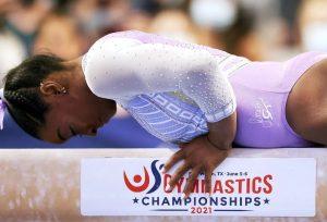 Gimnastică artistică: Simone Biles, campioană a SUA la individual compus pentru a şaptea oară
